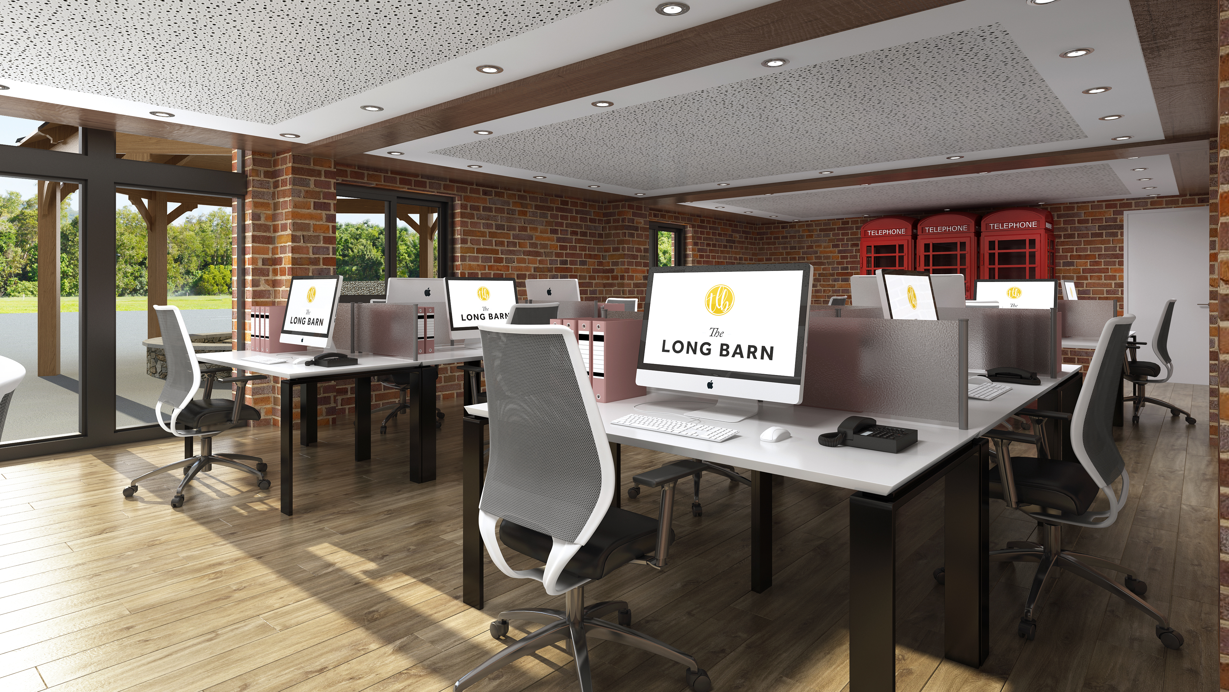 Office Barn Barn Conversion Renders Office D Iwooco